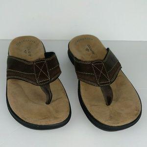 Dockers men's memory foam leather sandals